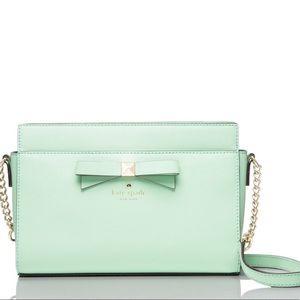 Handbags - Kate Spade Mint bow Crossbody Bag